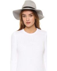 Sombrero de lana gris de Rag & Bone