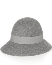 Sombrero de lana gris de Stella McCartney