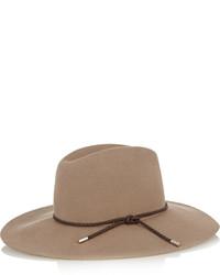 Sombrero de lana marrón de Emilio Pucci