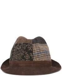Sombrero de Lana Marrón de Etro