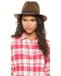 Sombrero de lana marrón de Hat Attack