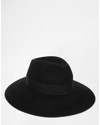 Sombrero de Lana Negro de Asos