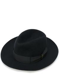 Sombrero de lana negro de Borsalino