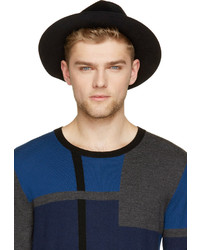 Sombrero de Lana Negro de Burberry