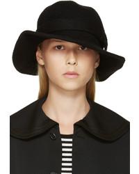 Sombrero de lana negro de Comme des Garcons