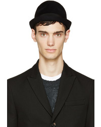 Sombrero de lana negro de DSQUARED2
