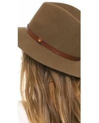 Sombrero de Lana Negro de Rag & Bone