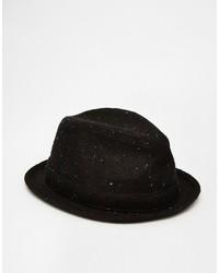Sombrero de lana negro de Goorin Bros.