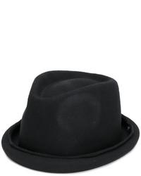 Sombrero de lana negro de Isabel Benenato