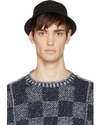 Sombrero de lana negro de Junya Watanabe