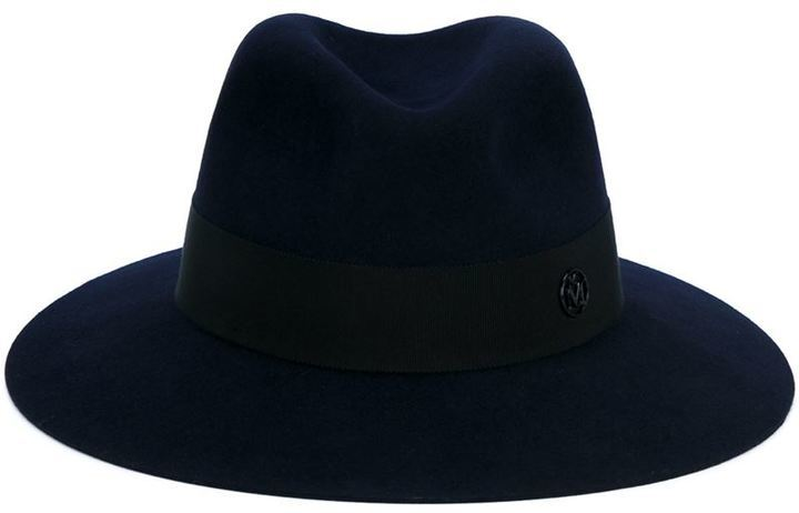 Sombrero de lana negro de Maison Michel