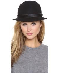 Sombrero de lana negro de Rag and Bone