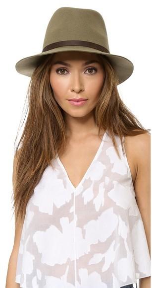 Sombrero de Lana Verde Oliva de Rag and Bone  dónde comprar y cómo ... 206fd25c82e