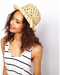 Sombrero de paja amarillo de Asos