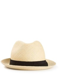 Sombrero de Paja Beige de Lanvin
