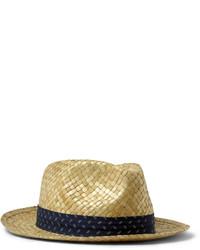 Sombrero de Paja Beige de Paul Smith