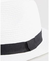 Sombrero de Paja Blanco de Asos  dónde comprar y cómo combinar 8c7a130c50b
