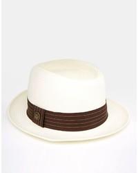 Sombrero de paja blanco de Goorin Bros.