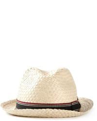 Sombrero de paja en beige