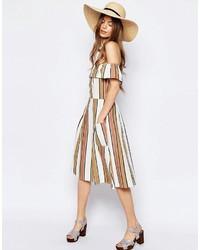 Sombrero de paja en beige de Asos