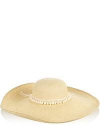 Sombrero de paja en beige de Sensi