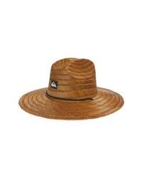 Sombrero de paja en tabaco
