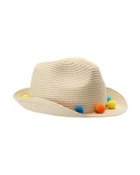 Sombrero de Paja Marrón Claro de Aldo