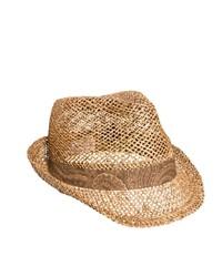 Sombrero de paja marrón claro de Asos