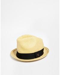 Sombrero de Paja Marrón Claro de Brixton