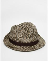 Sombrero de paja marrón claro de Goorin Bros.