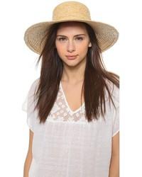 Sombrero de paja marrón claro de Hat Attack