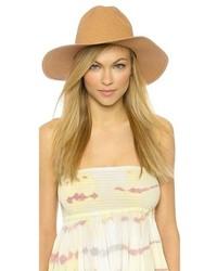 Sombrero de paja marrón claro de Madewell