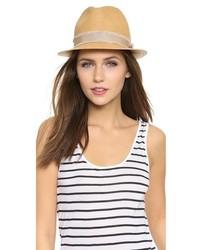 Sombrero de paja marrón claro de Rag and Bone