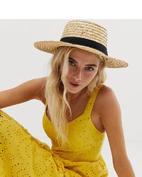 Sombrero de paja marrón claro de South Beach