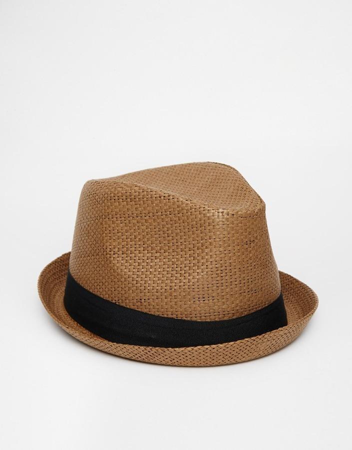 Sombrero de paja marrón de Asos  dónde comprar y cómo combinar 1b768300012
