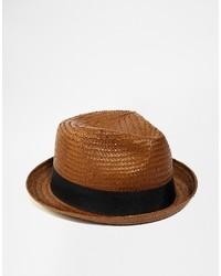 Sombrero de paja marrón de Brixton