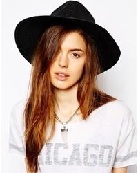 Sombrero de Paja Negro de Asos