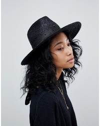 Sombrero de paja negro de Brixton