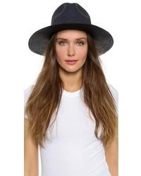 Sombrero de paja negro de Madewell