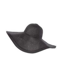 Sombrero de Paja Negro de mint&berry