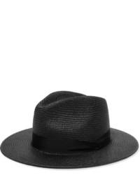 Sombrero de paja negro de Rag & Bone