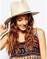 Sombrero en beige de Asos