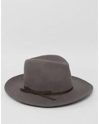 Sombrero en gris oscuro de Brixton
