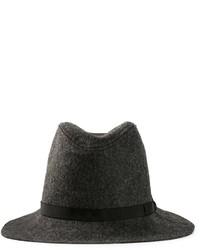 Sombrero en gris oscuro