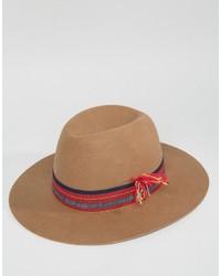 Sombrero marrón claro de Brixton