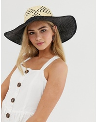 Sombrero marrón claro de Miss Selfridge