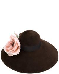 Sombrero Marrón Oscuro de Gucci