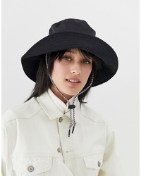 Sombrero negro de ASOS DESIGN
