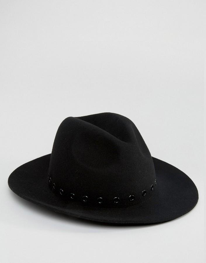 Sombrero negro de Asos  dónde comprar y cómo combinar 86ec33f153e