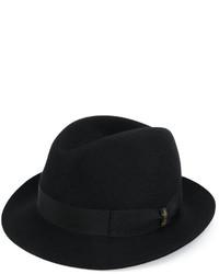 Comprar un sombrero negro Borsalino  39f53be8182